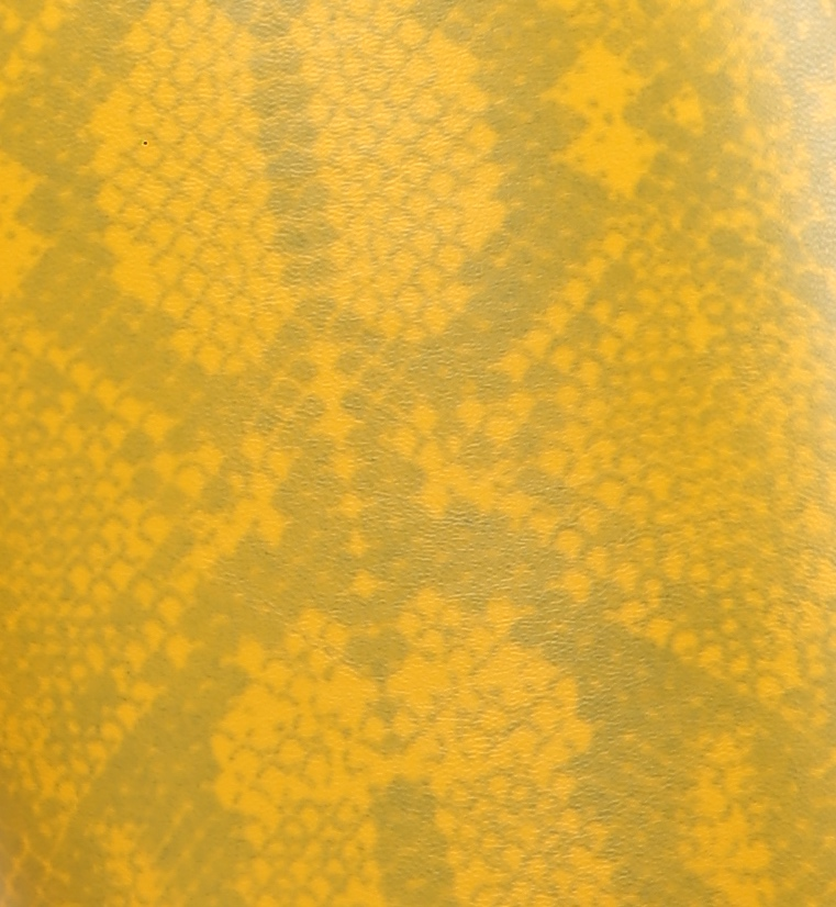 Snake yellow