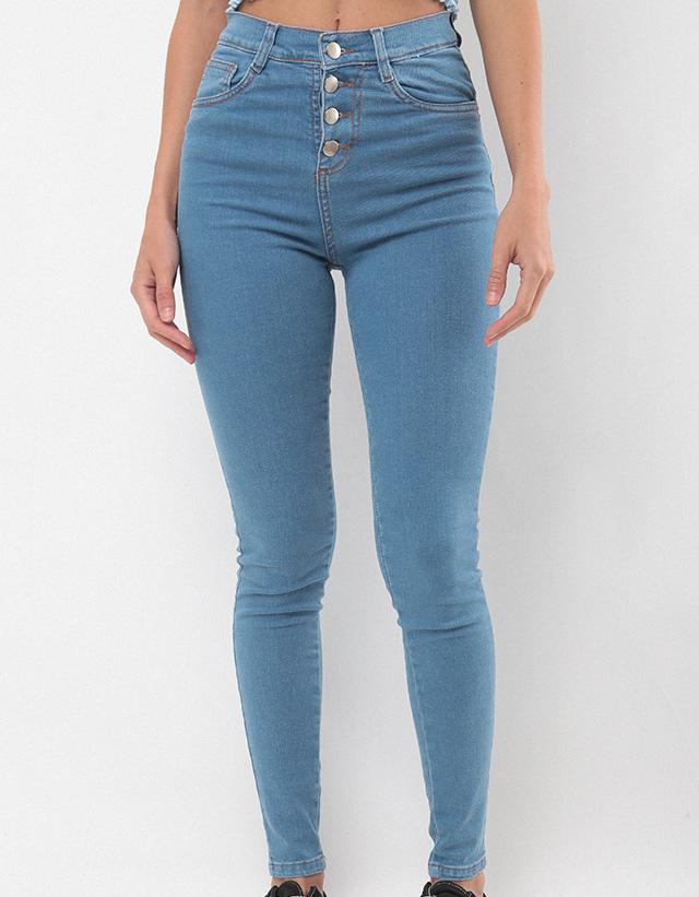 52fbcd0faeb PIETÀ - Jeans Skinny botones