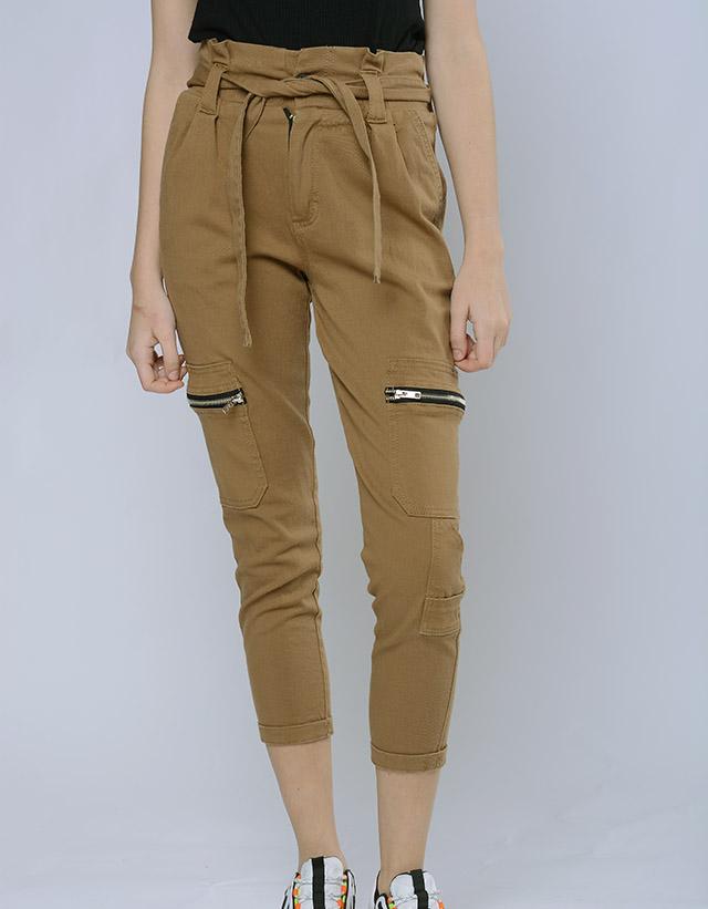 Pantalon carpintero gabardina