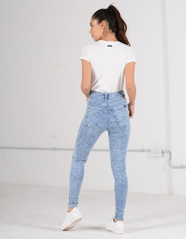 Jeans Skinny Retro Acid