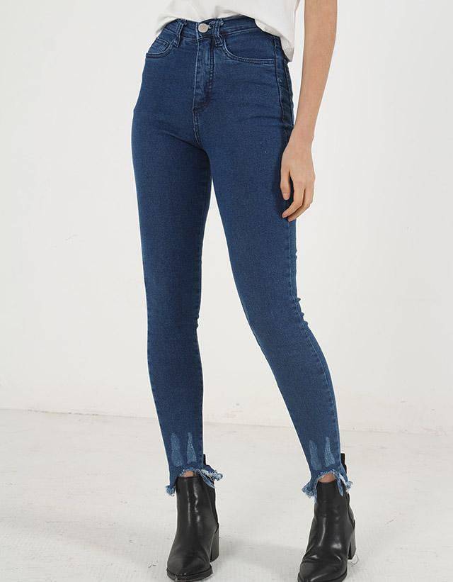 PIETÀ - Jeans Skinny Roturas Ruedo