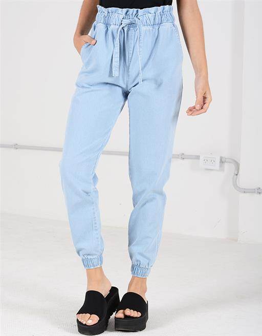 Pantalon Jogger Denim
