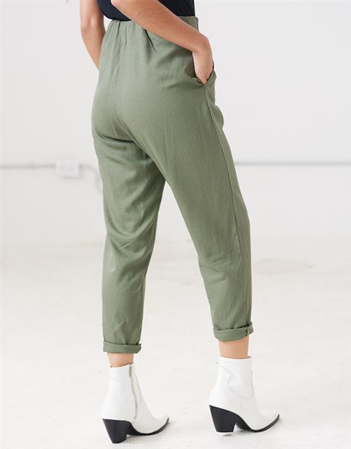 Pantalon Lino Argolla